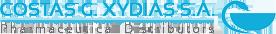 xydias.gr – Costas Xydias S.A Pharmaceutical Distributor Logo